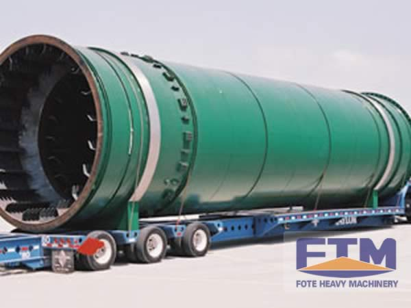 Coal Slime Dryer Shipment
